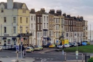 77 year old sidney collier from margate was taken to hospital where he later died from his injuries