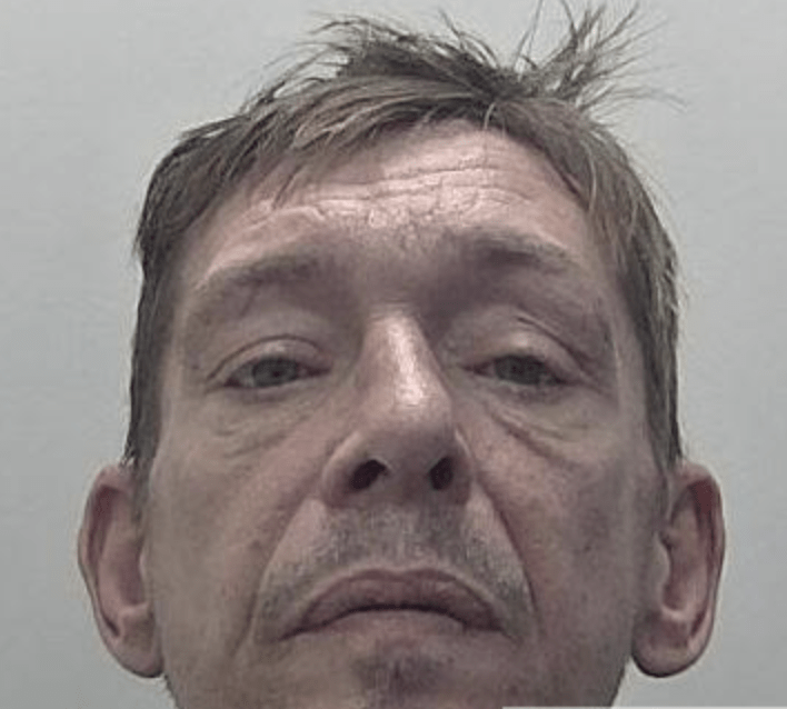 a canterbury burglar whose attempts to get away were scuppered when the victim gave chase on a bicycle has been jailed