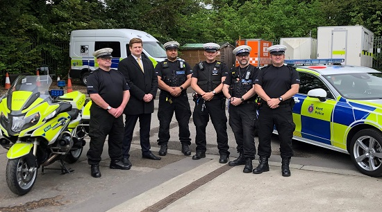 a day of action to promote road safety in thanet has led to the arrests of two people and four vehicles being seized