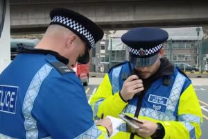 a suspected county lines drug dealer has been charged after kent police carried out a warrant in folkestone