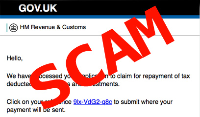 a warning has been issued following a number of fraud reports in which victims have been led to believe they may be arrested for owing a debt to her majestys revenue customs