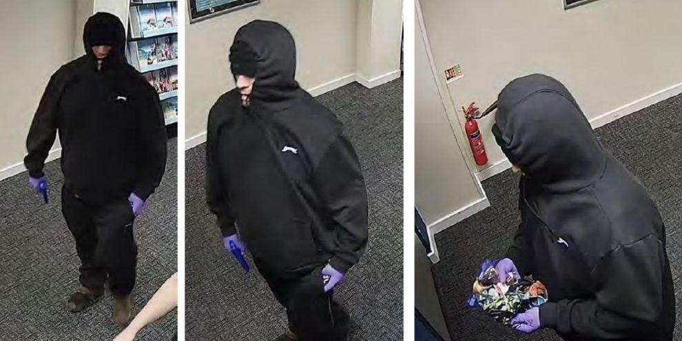 an armed robber who targeted a chatham travel agent has been jailed for seven year