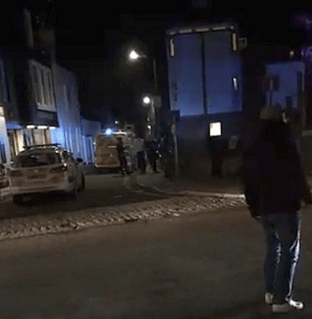 emergency services scrambled to person in the water in canterbury