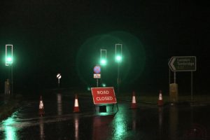 flooding shut the a21 in kent near tunbridge wells