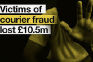 fraud detectives are reminding people to beware of criminals posing as police officers who ask for financial details over the phone