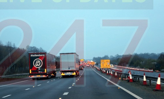 hauliers set to face 300 if they don t follow the rule in future traffic management in kent and operation brock