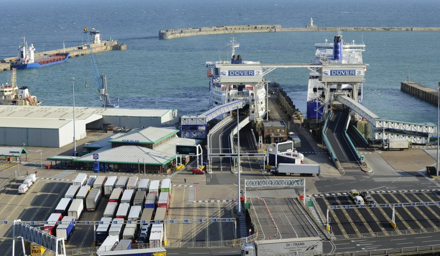 police have charged two after cash seizure at port of dover