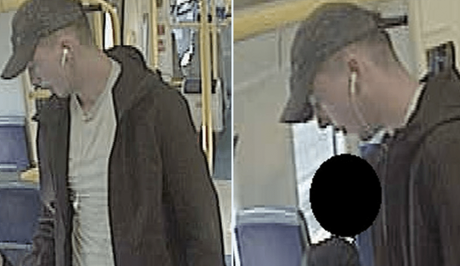 police want to question a man after an imitation gun was used to rob a male of his phone