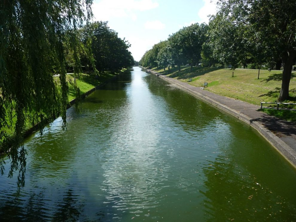teenager jumps into canal to save a baby