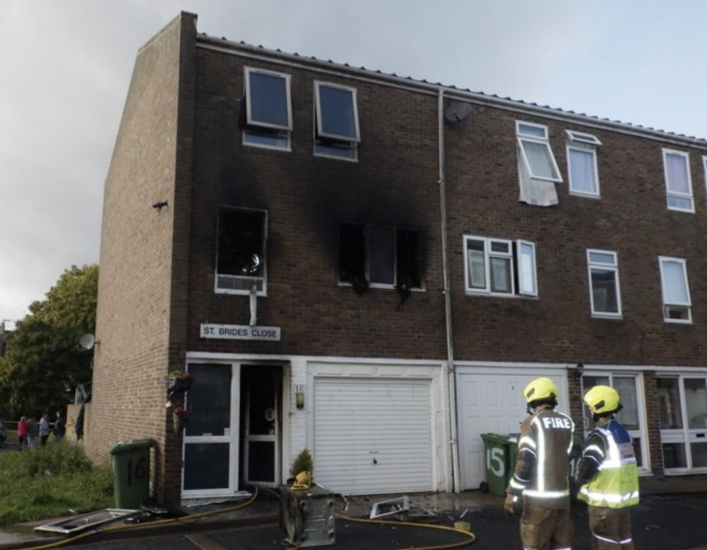 the brigade fire investigators believe the fire was caused by an unattended candle or incense stick igniting textiles