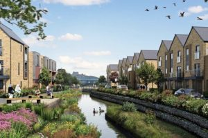 the latest redevelopment plans for the remaining 23 ha brownfield site aim to enhance the riverside setting have been released
