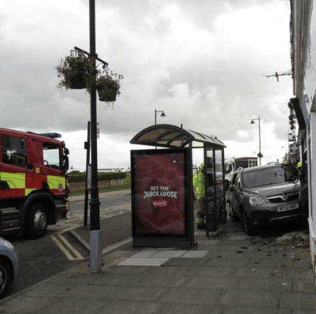 the vehicle is believed to have been driven into bengali spice in deal 2