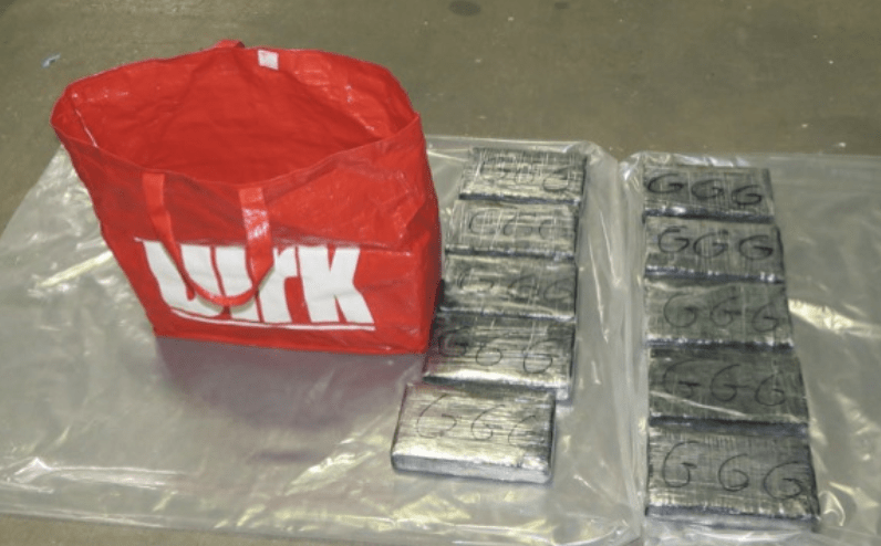 a romanian lorry driver has been jailed after he had attempted to bring cocaine worth up to 1 million into the uk