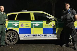 a unit which sees kent specials team up with south east coast ambulance service secamb has been extended with a third vehicle launched to cover the east of the county