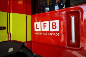 firefighters rescued a woman and a child from a fire at a house on shalford close in orpington