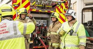 kent fire and rescue service was called to a kitchen fire on goad avenue in walderslade near chatham