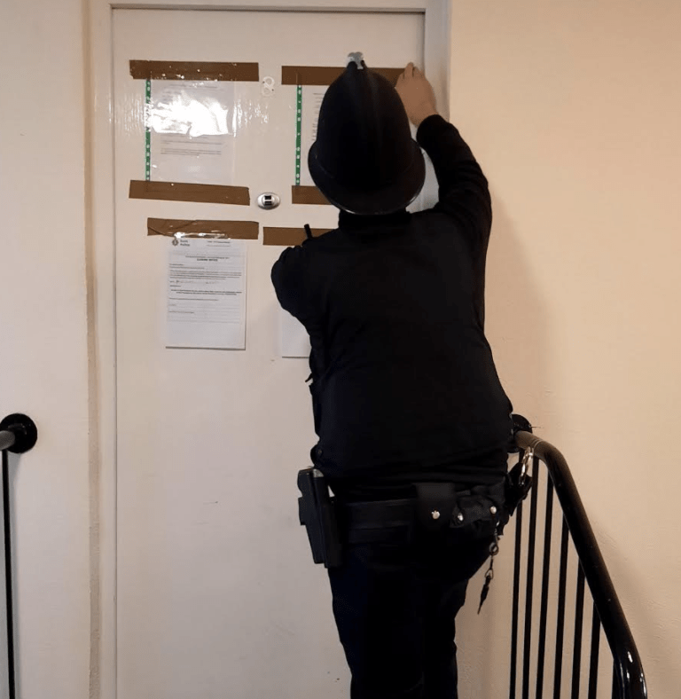 repeated incidents of antisocial behaviour have led to a gravesend home receiving a closure order