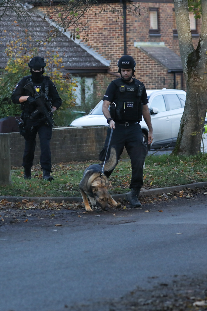 updated armed police throw sleepy doomsday village into lockdown after man seen with a weapon