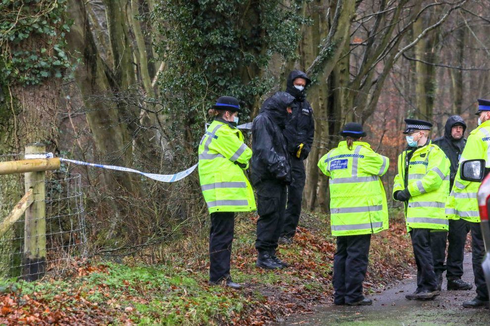 Major Police search called off after Teenager is found in overgrown wooded area in Barham in Kent