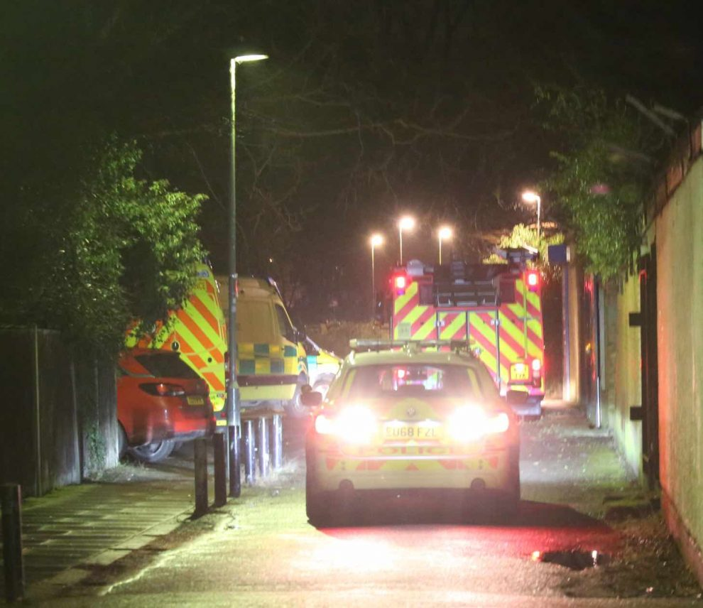 Major rescue to recover woman from pitch black river  after being pushed in by man in Orpington