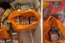 Cash believed to be in the region of at least half a million pounds has been seized during a search warrant to tackle organised crime in Kent and other parts of the south east of England.