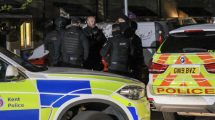 Fifteen Armed Police called in to arrest man in midnight swoop on Maidstone Park Wood Estate